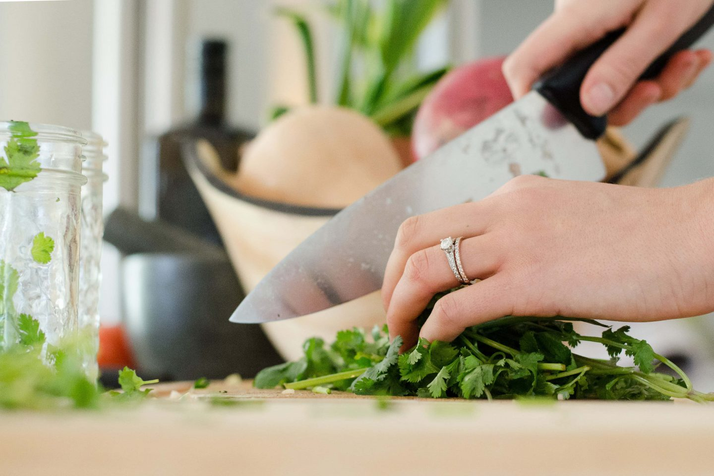 Cooking with Fresh Ingredients