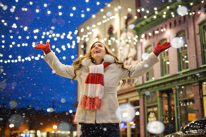 Winter Holidays Street Market