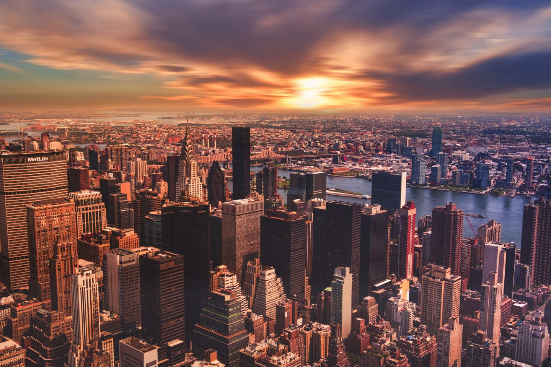 Enjoy the City Skyline