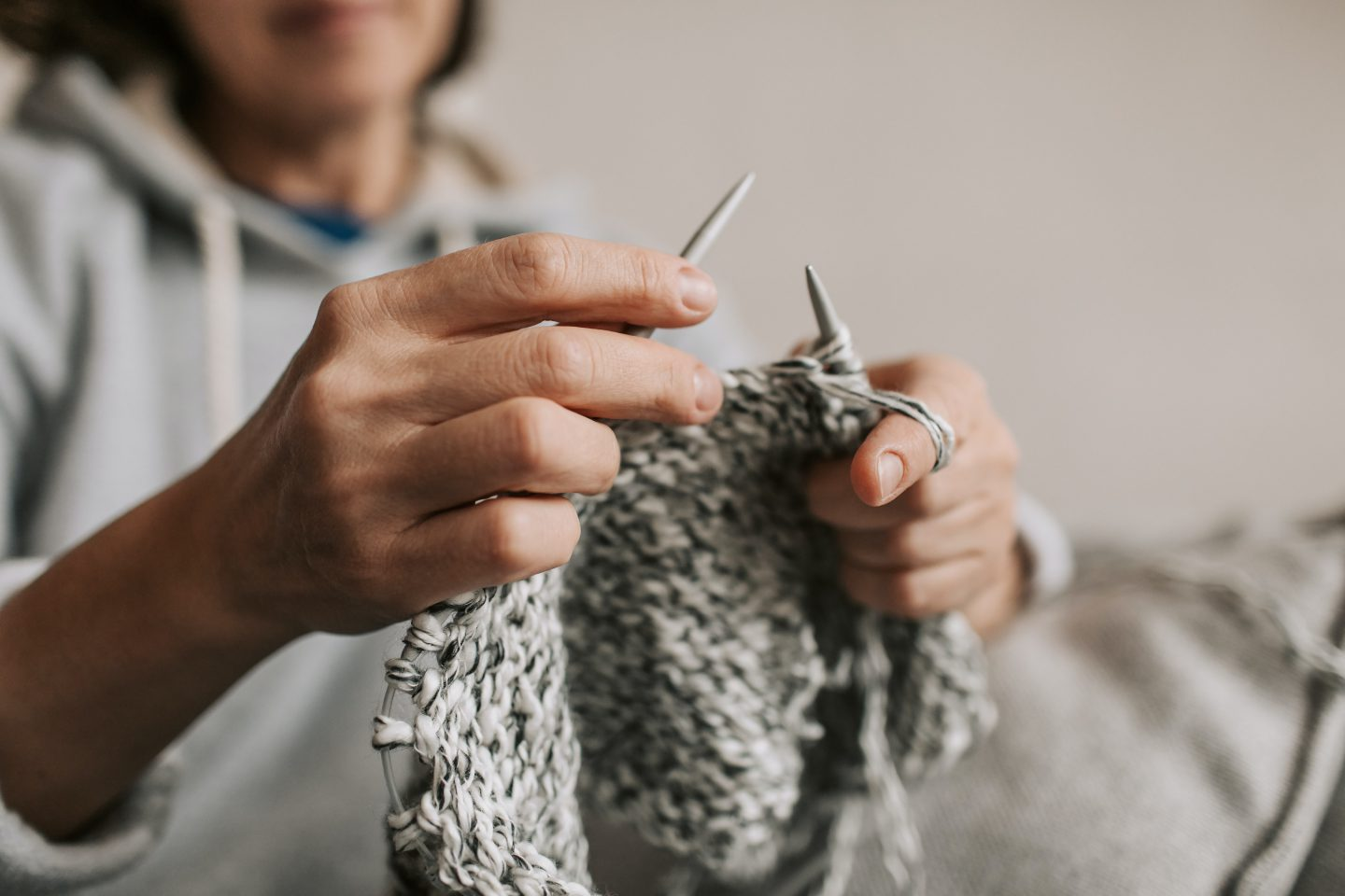 Knitting with Sustainable Wool
