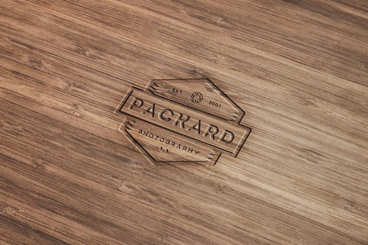 Wood Engraved Logo