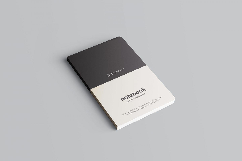 Advanced notebook mockup