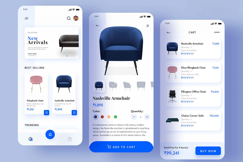 Furniture eCommerce App