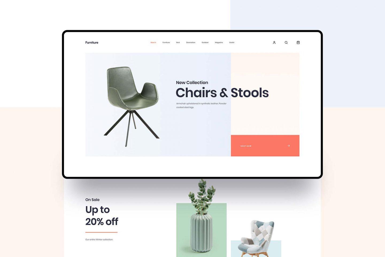 Minimal Furniture Shop