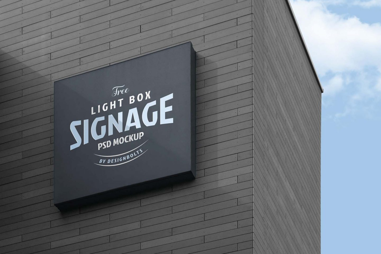 Logo Signage Board