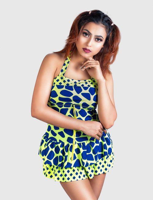 Shapes Patterned Dress