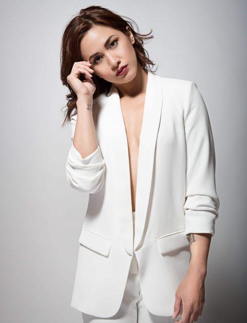 Elegant White Blazer