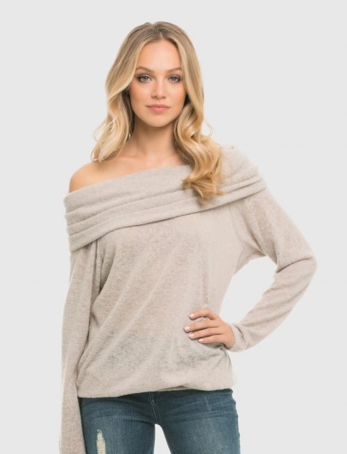 Stone Knitted Top