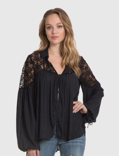 Front Buttoned Shirt