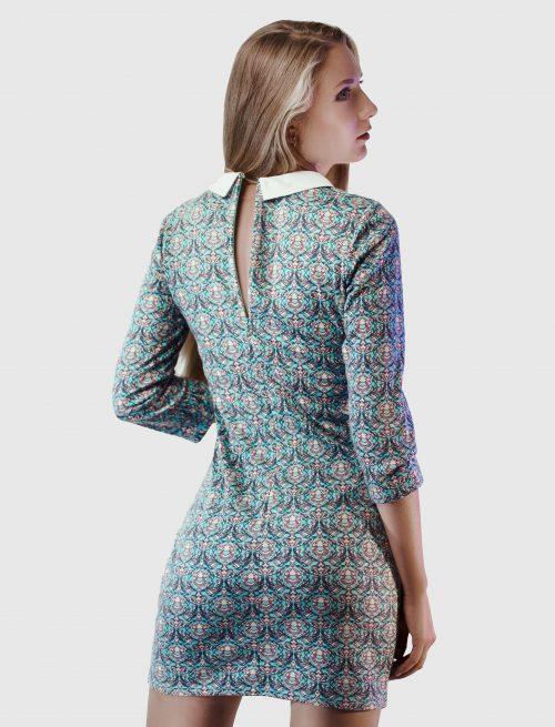 Cocktail Patterned Dress