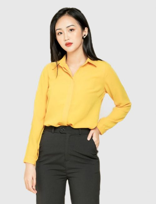 Yellow Summer Shirt