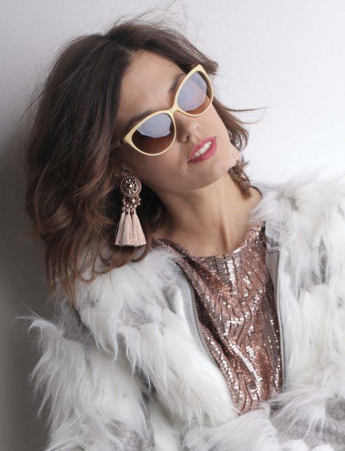 Golden Frame Sunglasses