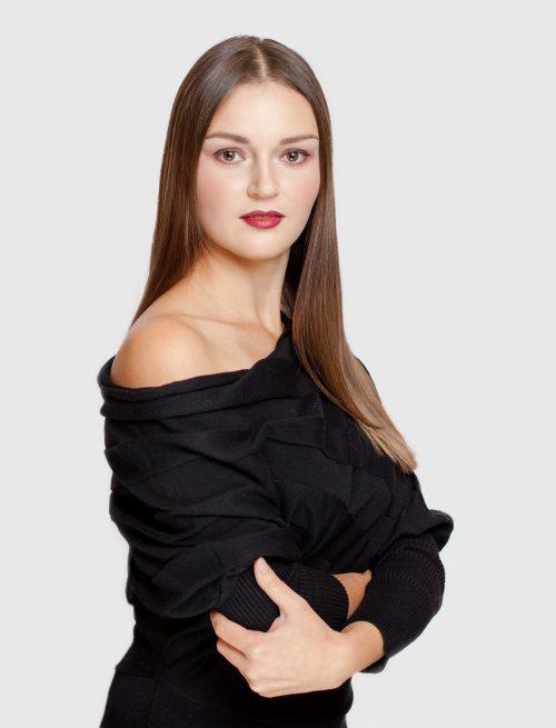 Black Velvet Sweater